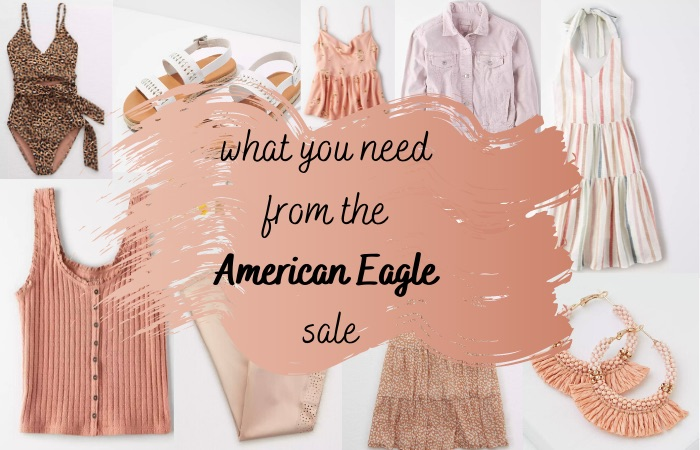the top 30 american eagle sale picks