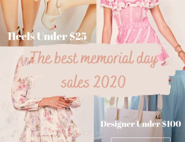 the best memorial day sales 2020 for affordable womens fashion with shoppable options from each