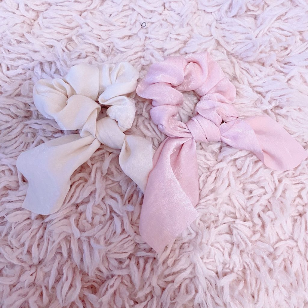 hair accessories under $20 | girly and pink fashion blog | sequins and satin