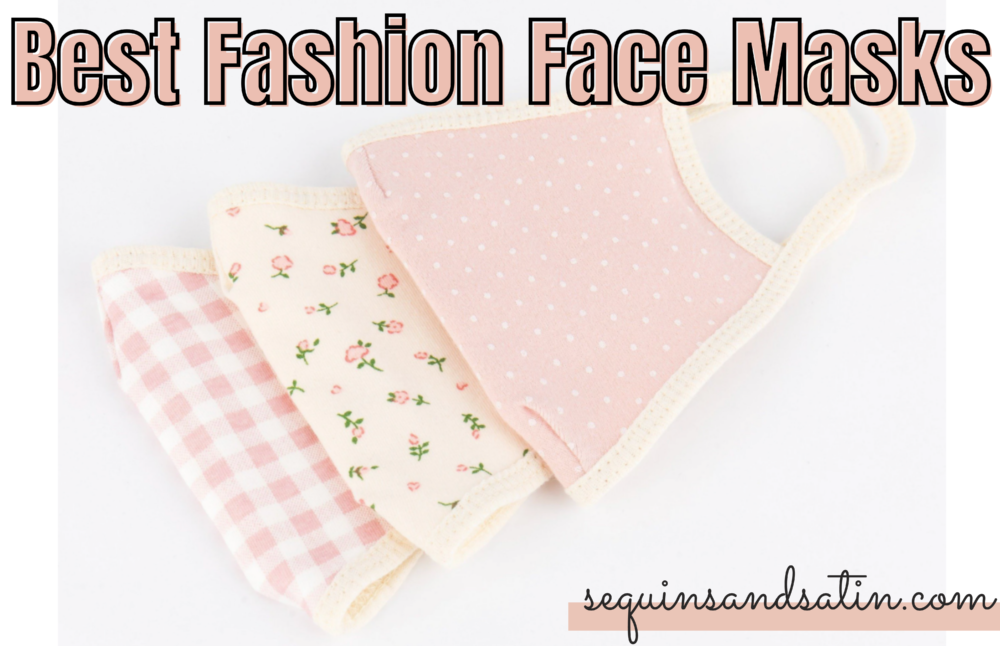 fashion face masks