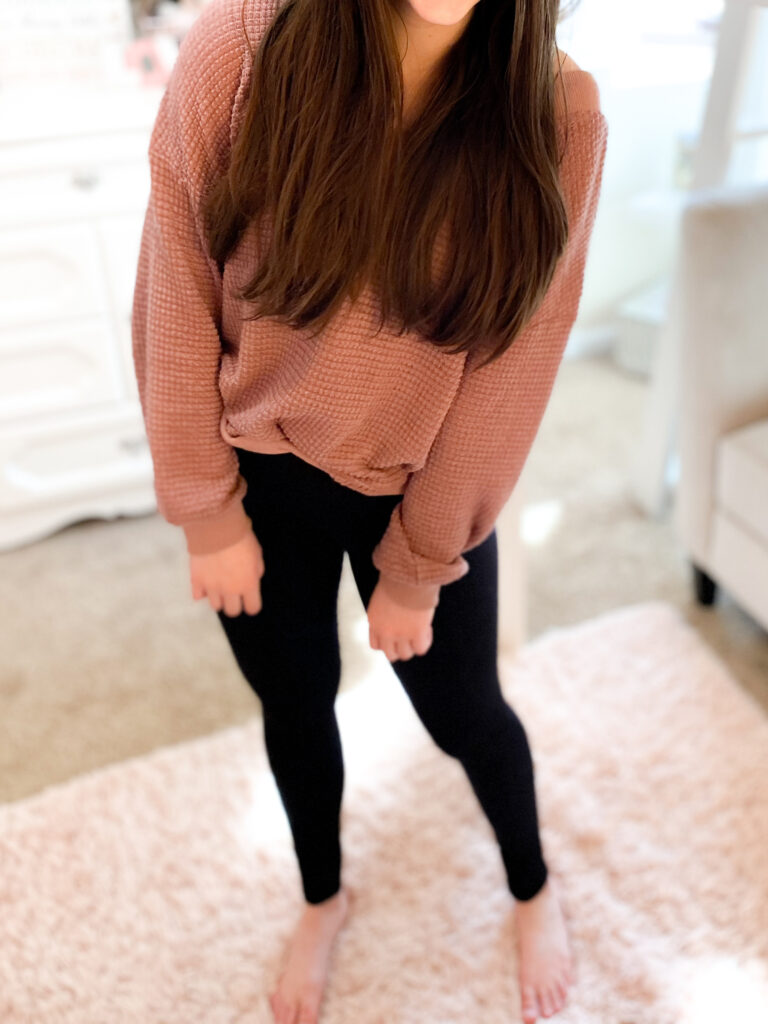 cute amazon sweatshirt, pink sweatshirt, amazon sweater, amazon finds
