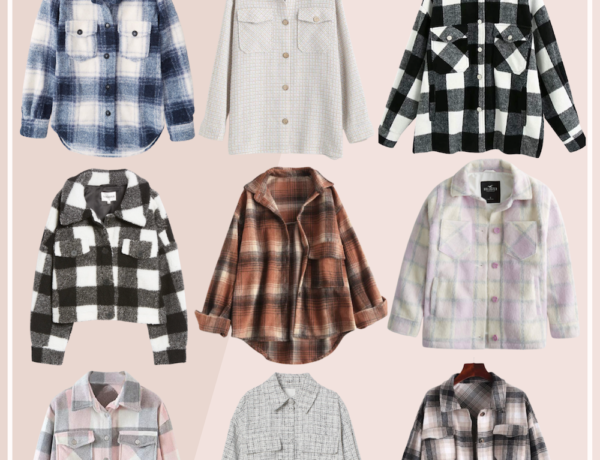 plaid shackets, hm shacket, amazon shacket, abercrombie shackets