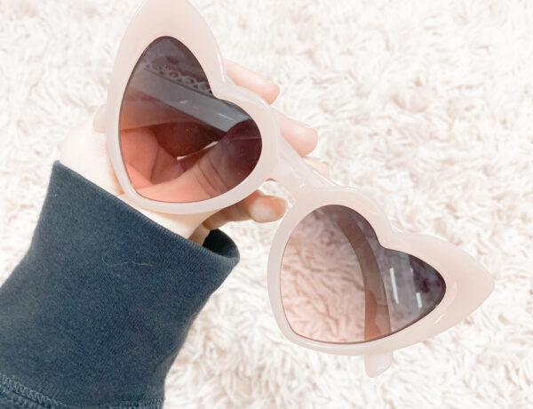amazon heart sunglasses