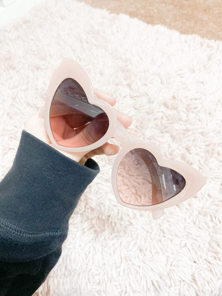 amazon heart sunglasses