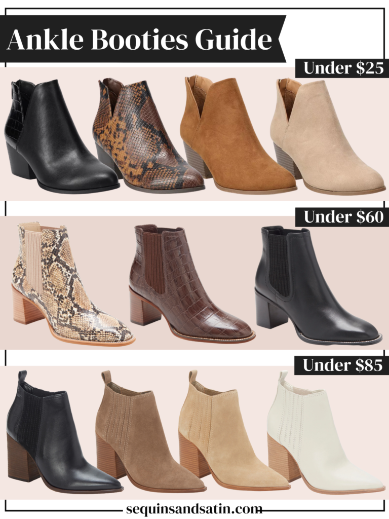 ankle booties guide