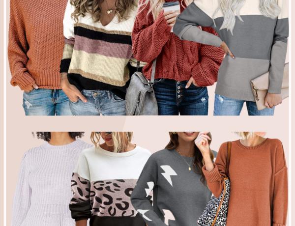 amazon sweater finds, amazon fashion, amazon sweaters, best amazon sweaters