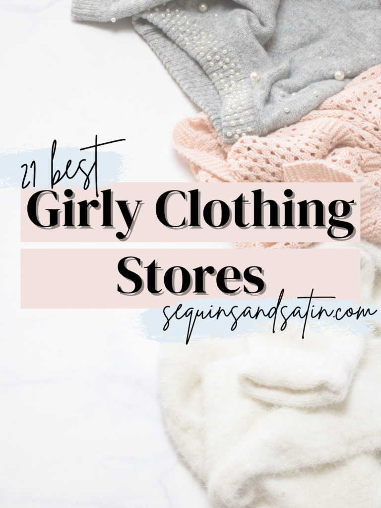 best girly clothing stores