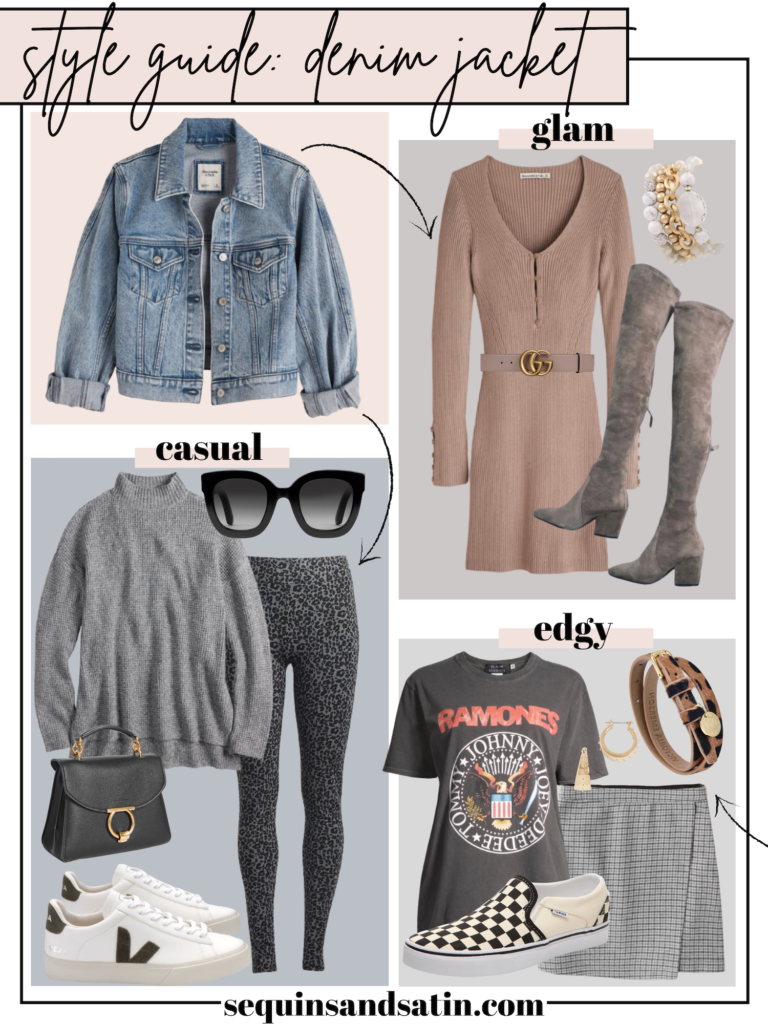 denim jacket outfits for women