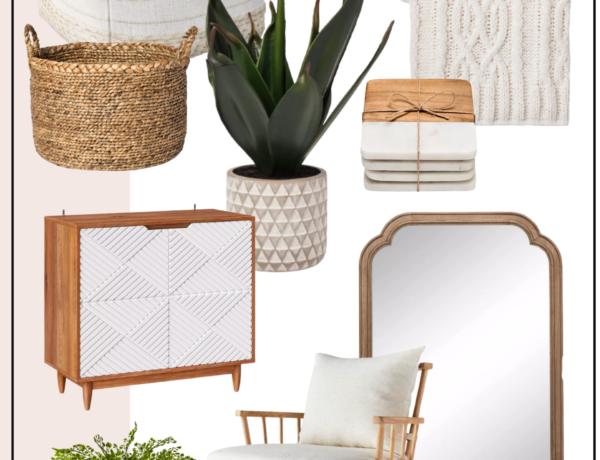 minimal target home decor, target finds, target home, minimal home decor