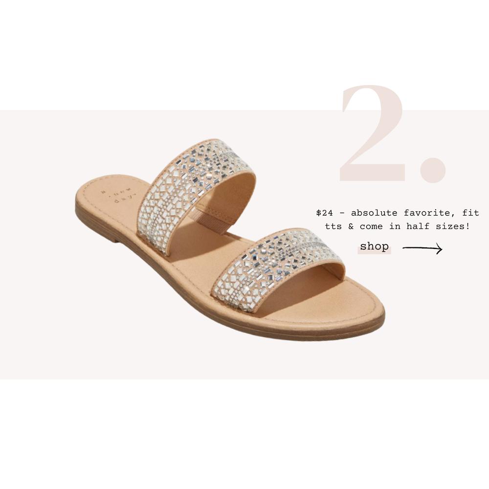 target-sandals