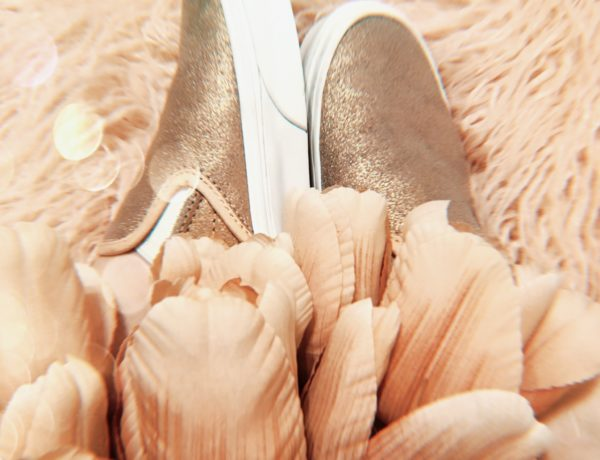 rose gold vans outfit ideas, stylish ways to wear your girly, slip on, sneakers