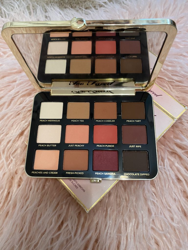the best affordable beauty products ~ girly and pink fashion blog ~ sequins and satin ~ cheap eyeshadow palette from too faced matte