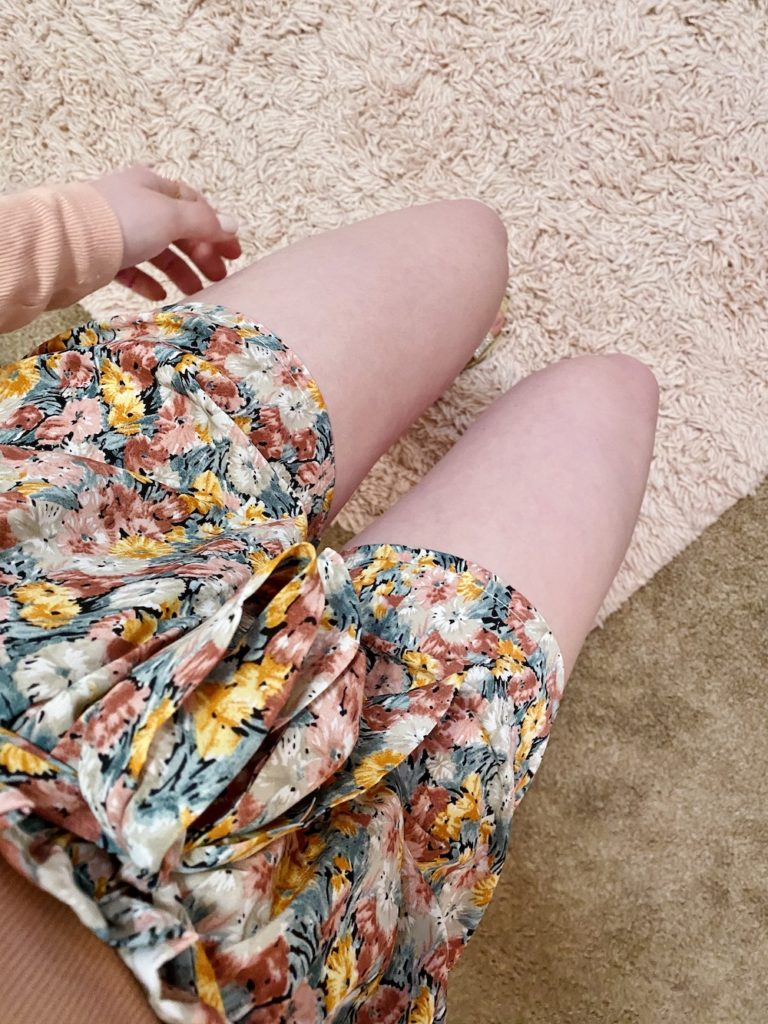 paperbag shorts outfit/ how to wear paperbag shorts + the #1 secret to always looking stylish ~ girly and pink fashion style blog