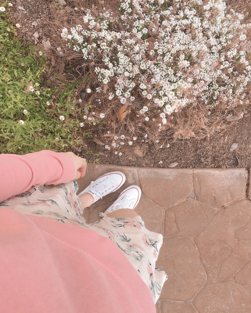 incredibly simple casual skirt outfits - spring fashion 2020