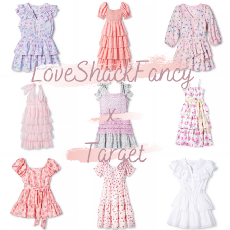 LoveShackFancy Target 2020 full collection and affordable dupes