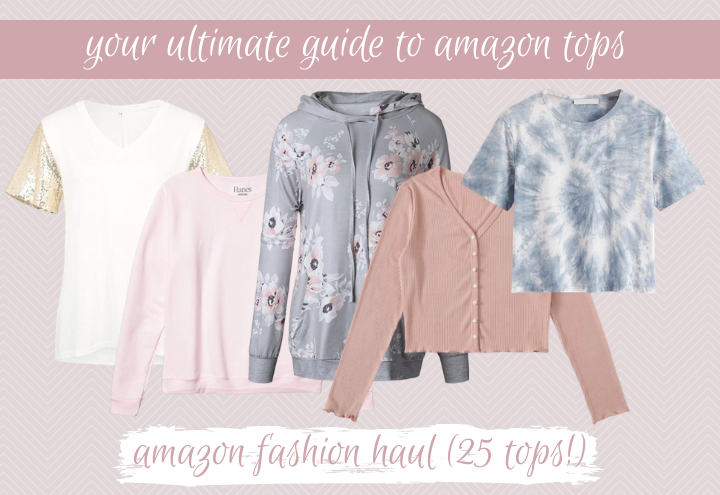 amazon fashion haul, the best 25 tops from amazon under $30!