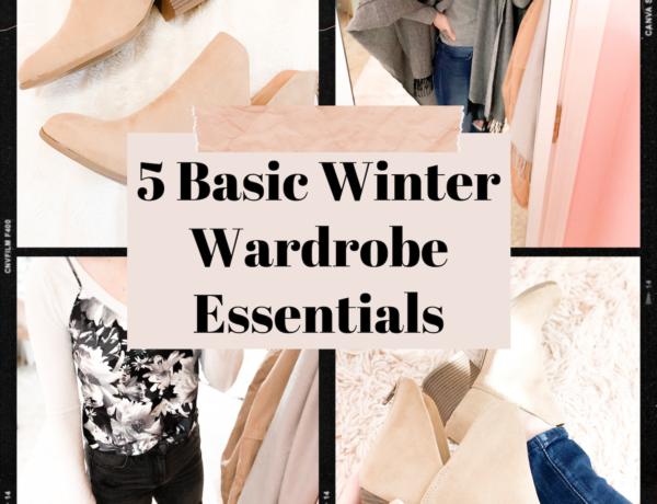basic winter wardrobe essentials, capsule wardrobe must haves