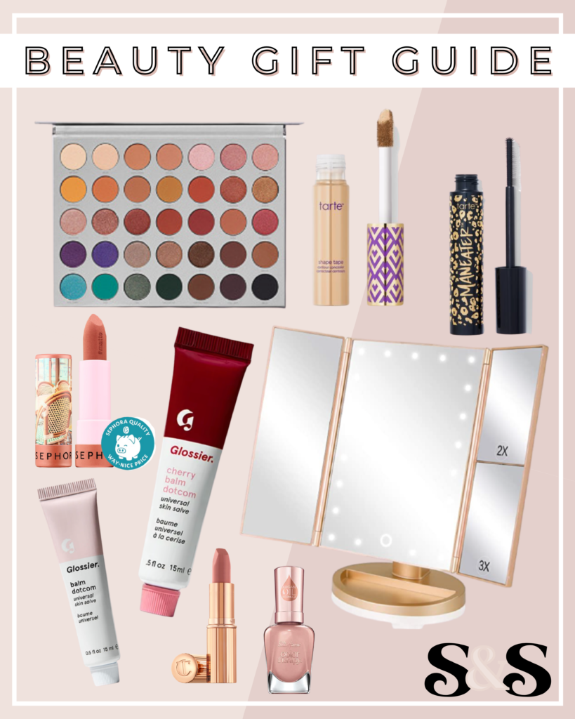 beauty gifts, makeup gifts, beauty gift guide, makeup gift guide