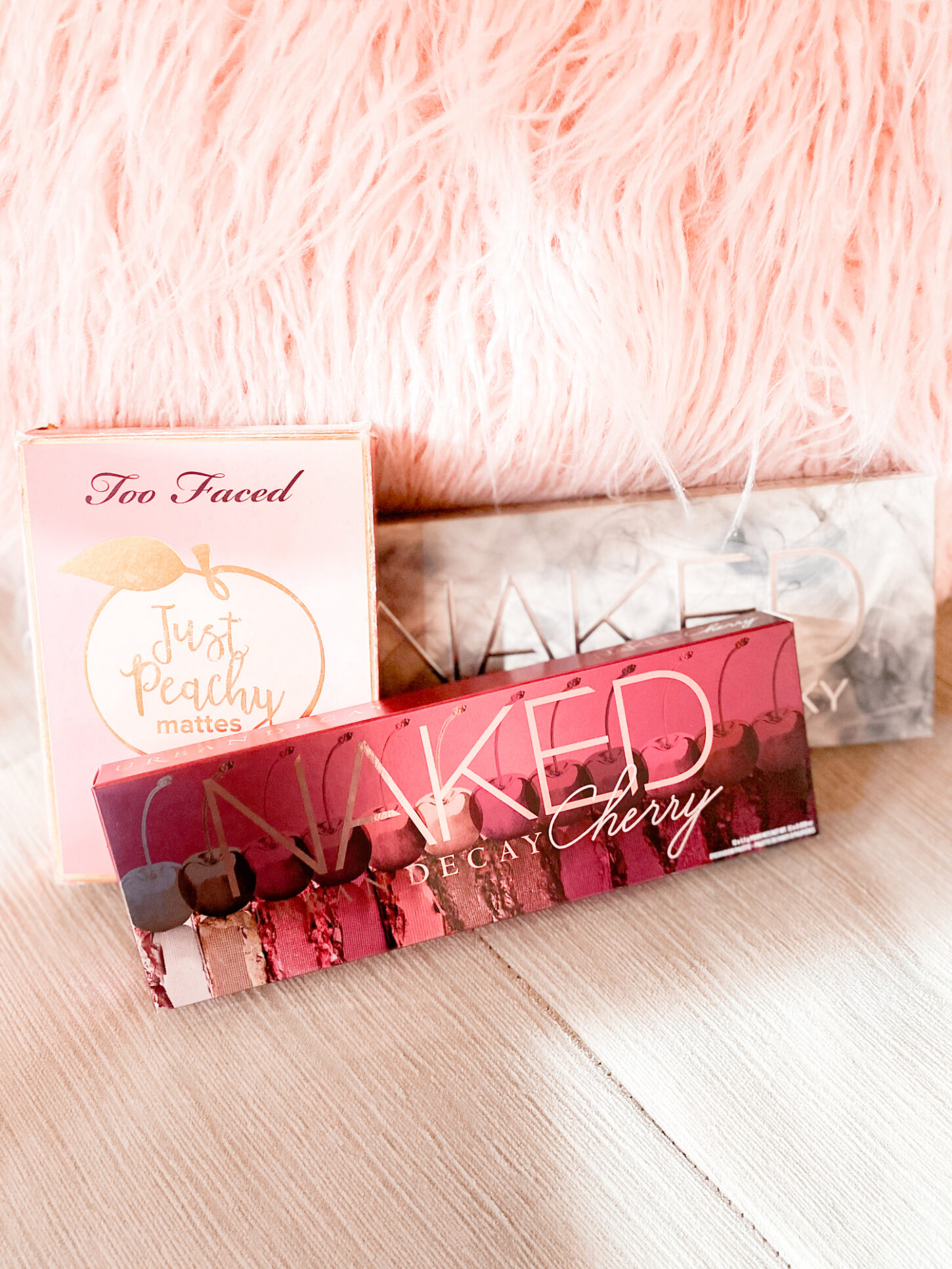 best eyeshadow palettes to buy, naked urban decay cherry eyeshadow palette, naked urban decay smoky eyeshadow palette, too faced just peachy eyeshadow palette