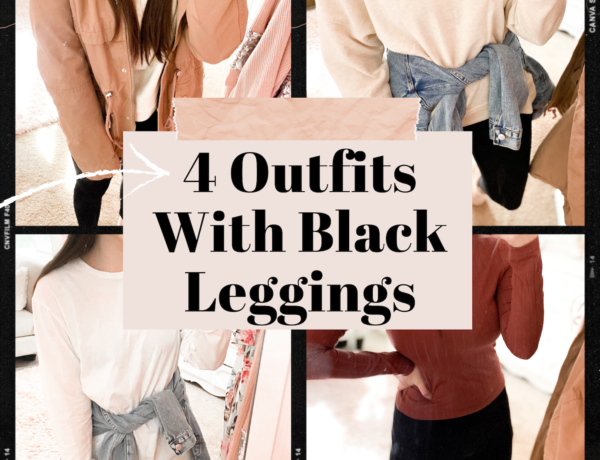 black leggings outfits, outfits with black leggings