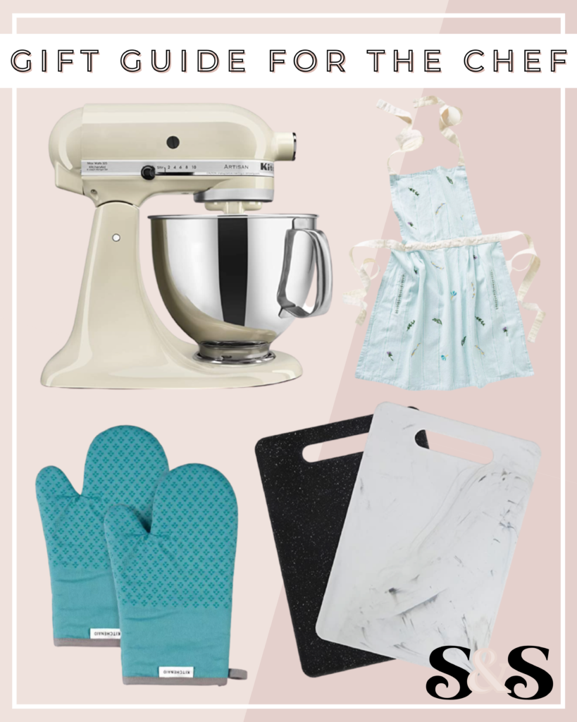 gifts for the chef, chef gifts, kitchen gift guide, gift guide for the cook