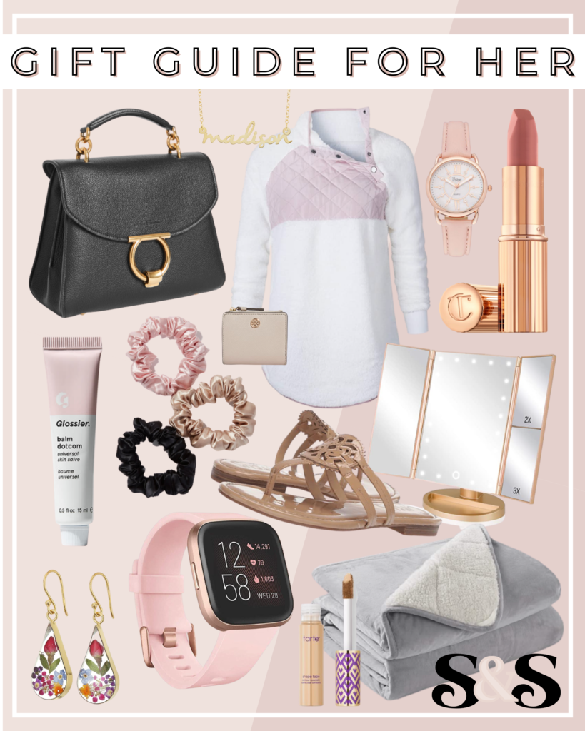gifts for her, gifts for women, gift guide for her, gift guide for women