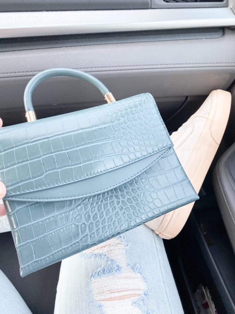 best snakeskin purse from target