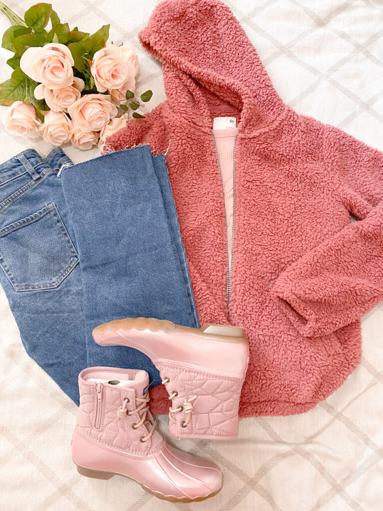 Sherpa outfits