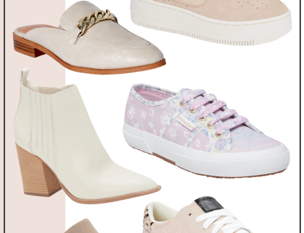 cute spring shoes for women, spring sneakers, spring mules, spring booties