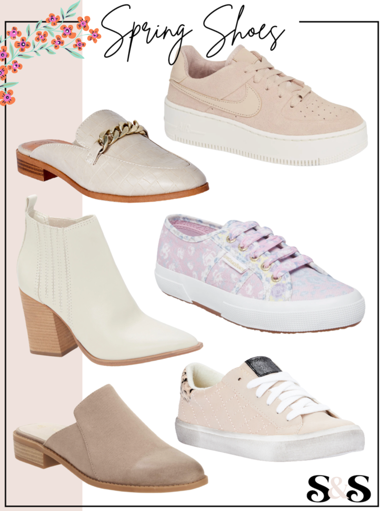 cute spring shoes for women