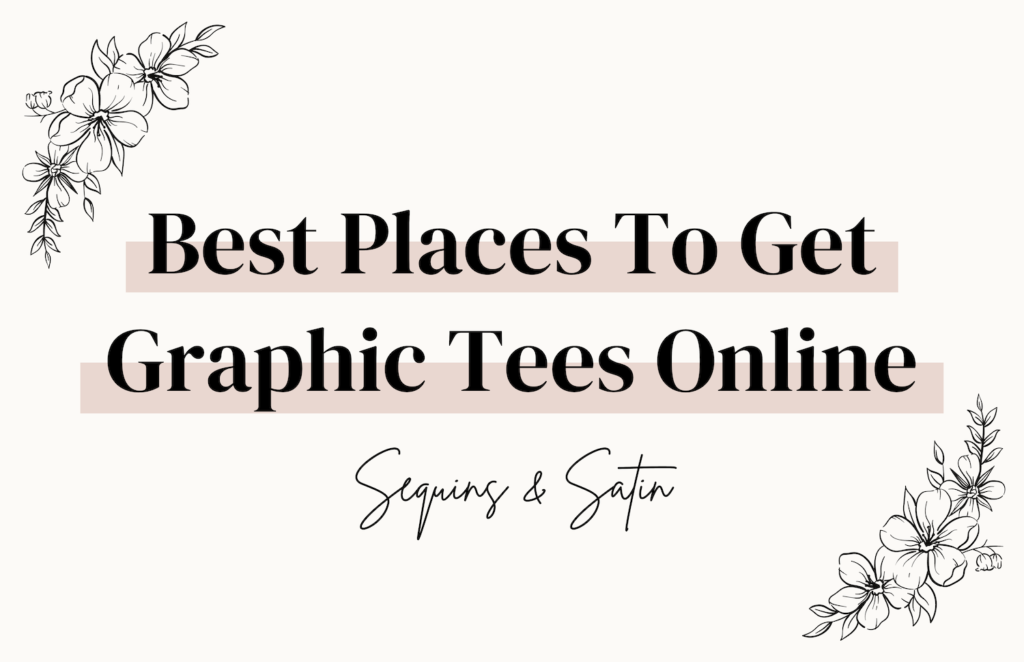 best places to get graphic tees online