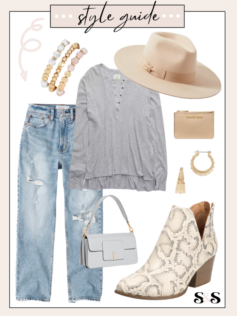 casual hat outfit
