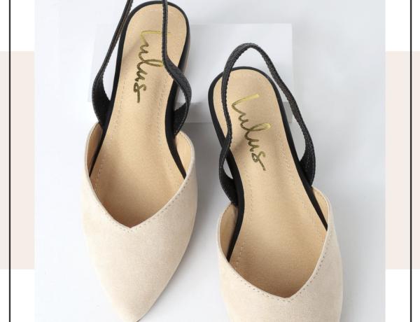 chanel inspired slingback shoes, designer inspired shoes, chanel inspired shoes, best designer dupes