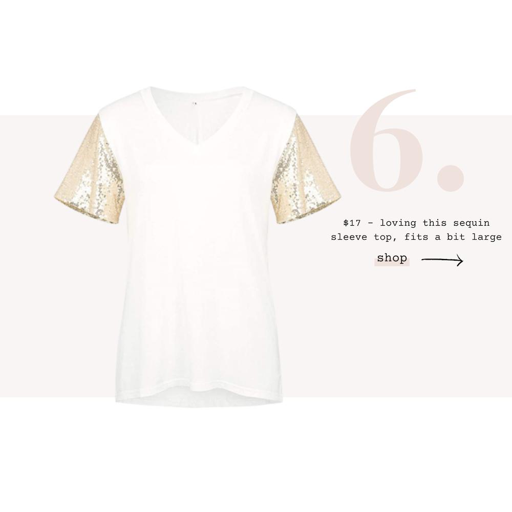 6-amazon-fashion-sequins-sleeve-tee