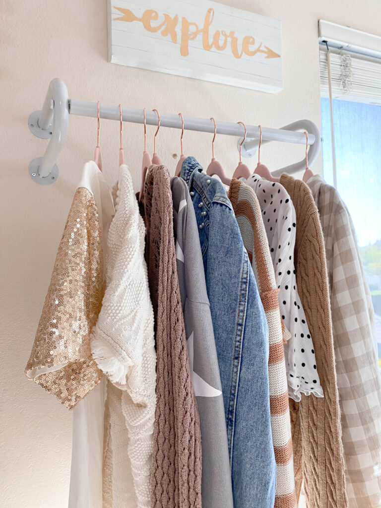 amazon clothing rack