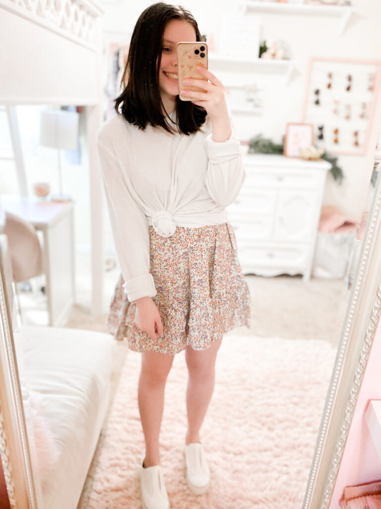 cute outfits for cold spring days