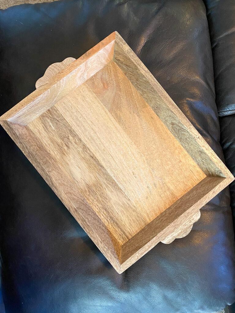 ottoman wooden tray