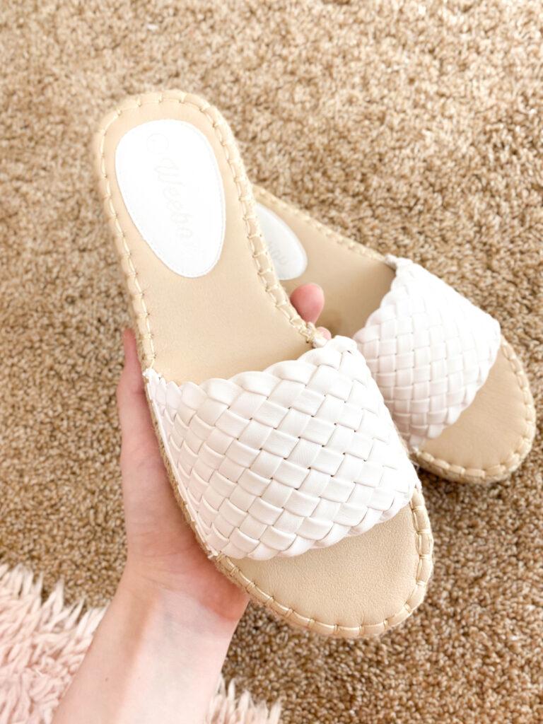 braided sandals under $20