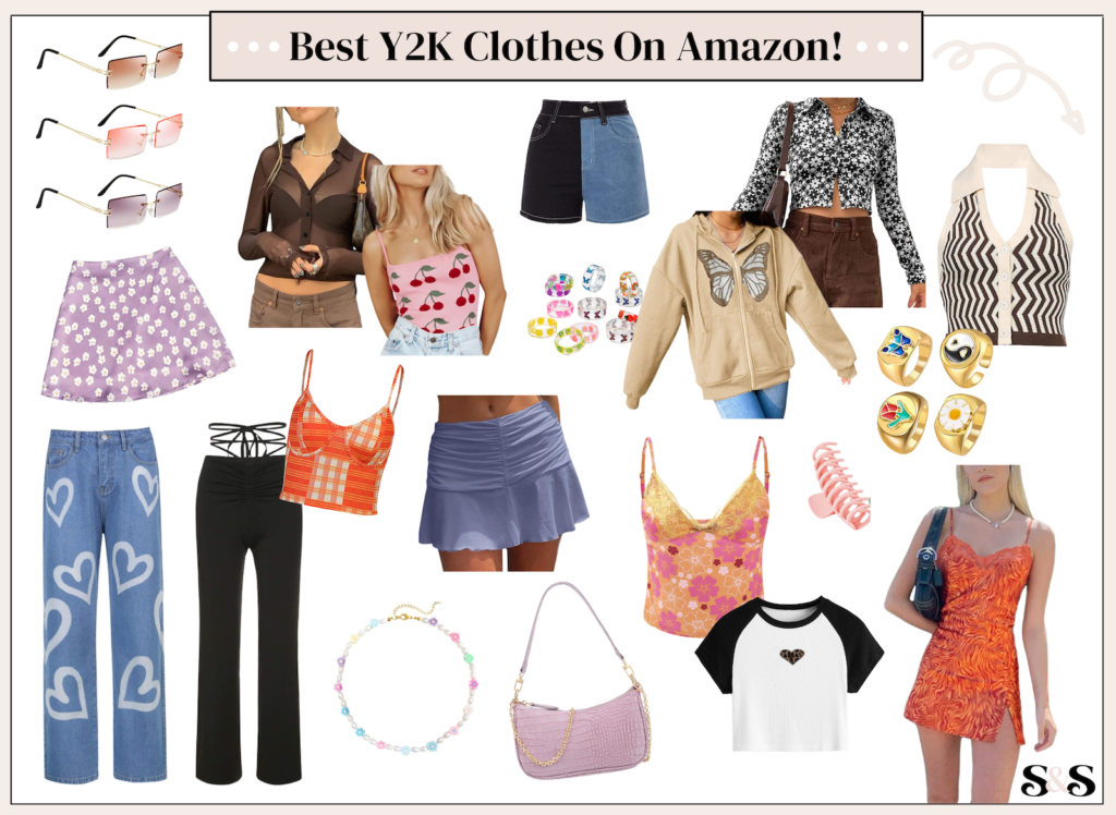 best y2k clothes on amazon