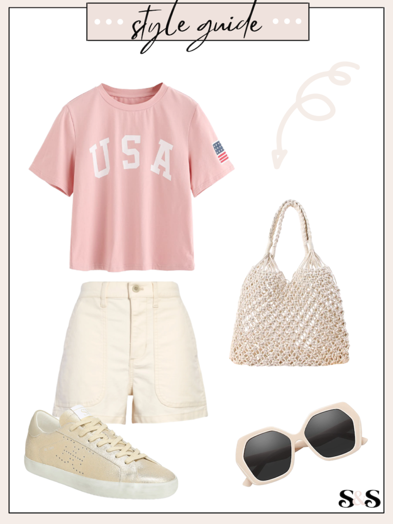 usa tee outfit