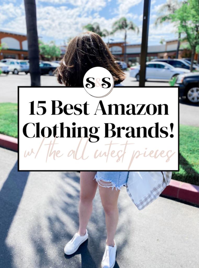 best amazon clothing brands