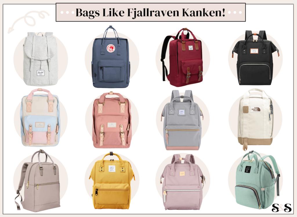 best bags like fjallraven kanken backpacks
