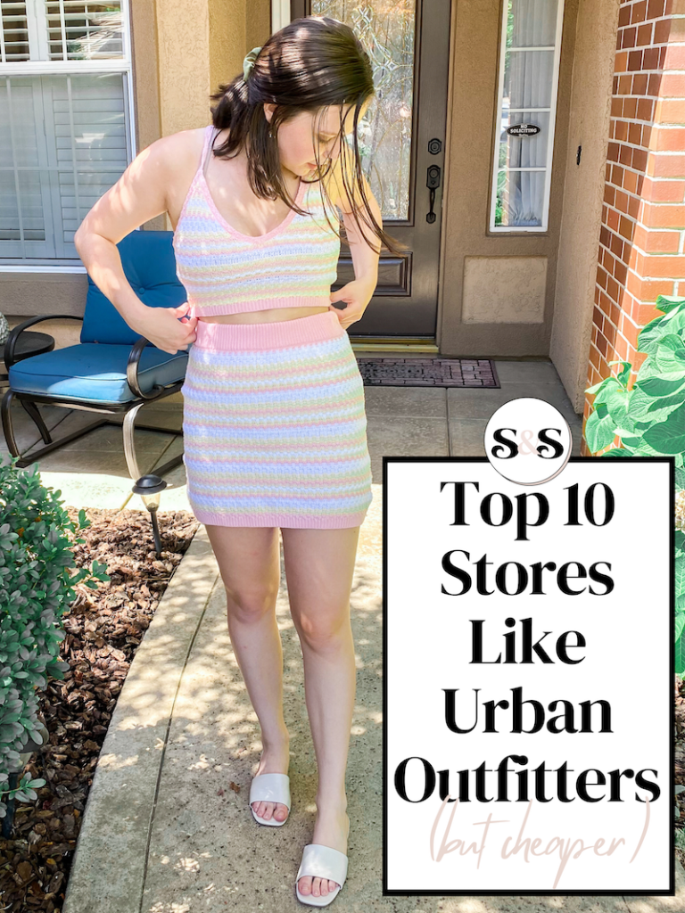 best stores like urban outfitters but cheaper