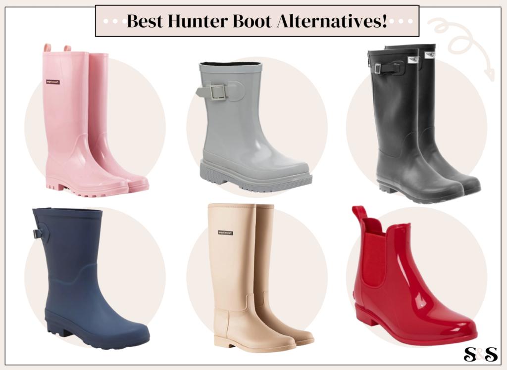 best hunter boot alternatives