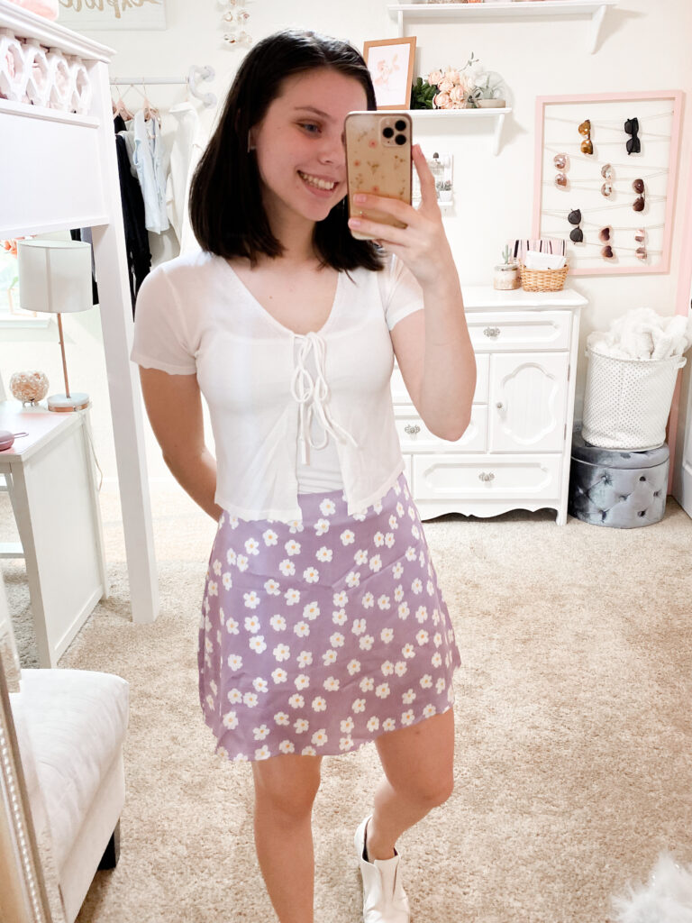 amazon skirt outfit